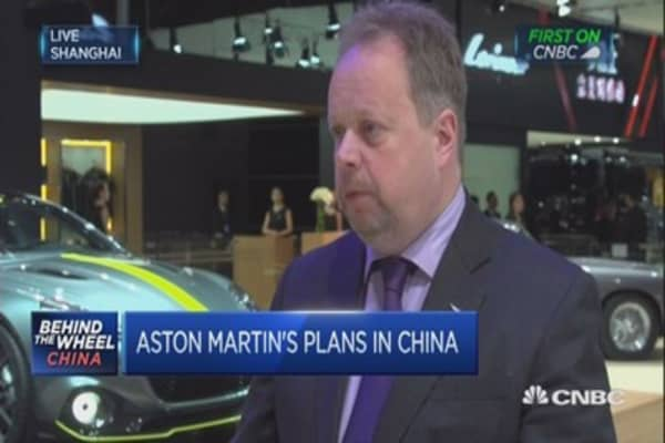 Aston Martin is bucking the luxury trend