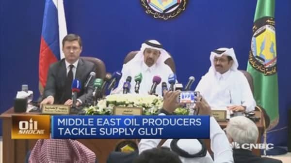 Arab oil ministers discuss whether the oil price can reach mid $60s
