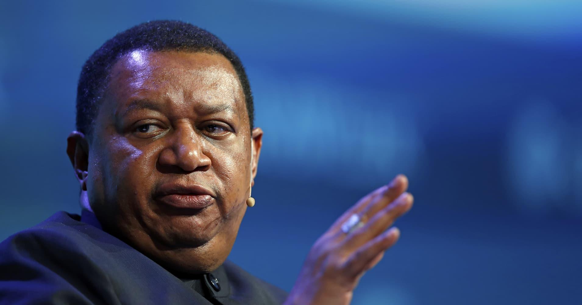 OPEC Secretary General Mohammed Barkindo worried about trade war