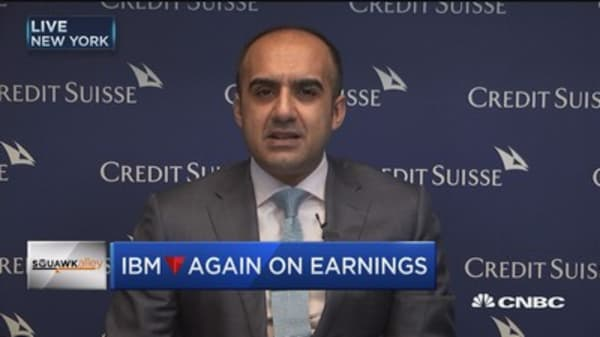 Concerned IBM will take 2-3 years to stabilize top line: Credit Suisse