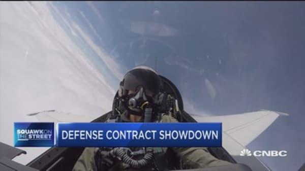 Defense contractor showdown between Lockheed and Boeing