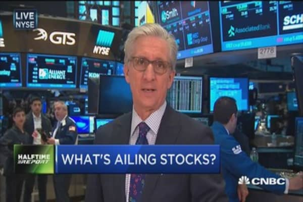 What's ailing stocks?