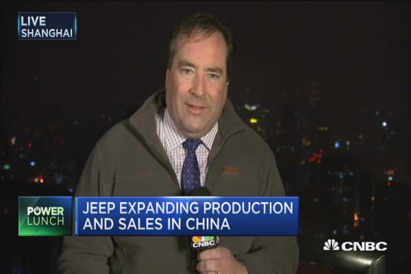 Jeep expanding production and sales in China