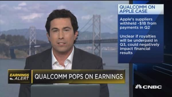 Qualcomm CEO: Expect to continue being key Apple supplier