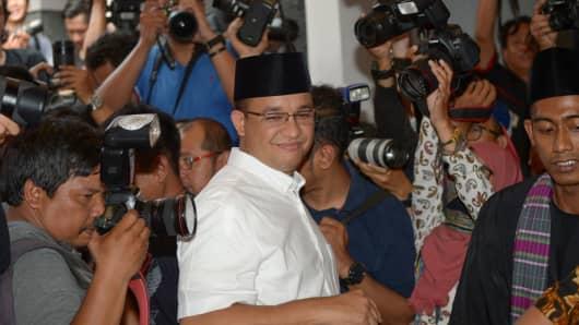 Incoming Jakarta governor Anies Baswedan