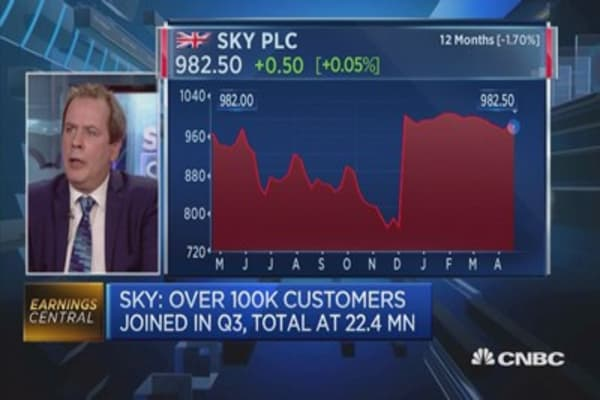 Wilson King: Sky's strong results underpin it's ongoing evolution