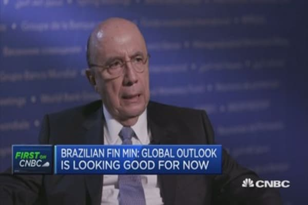 Will not see a hard landing in China: Brazil Fin Min