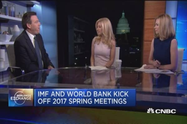 The biggest concern for the IMF and World Bank?  France