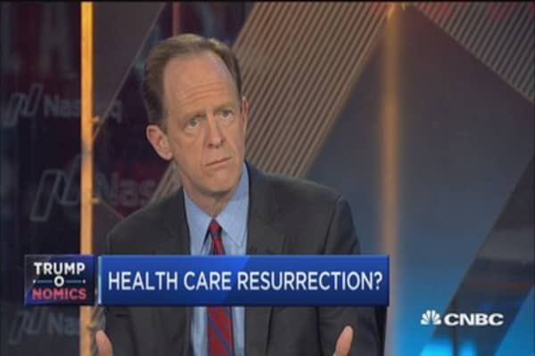 Sen. Toomey: Will have a 'shot' at repeal and replace Obamacare