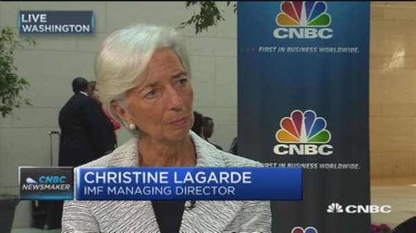 Lagarde: France leaving euro would cause major disorder