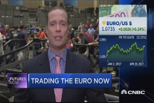 Trader: Sell the euro ahead of French election