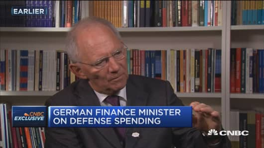 Germany Finance Minister: Trump is right on NATO spending