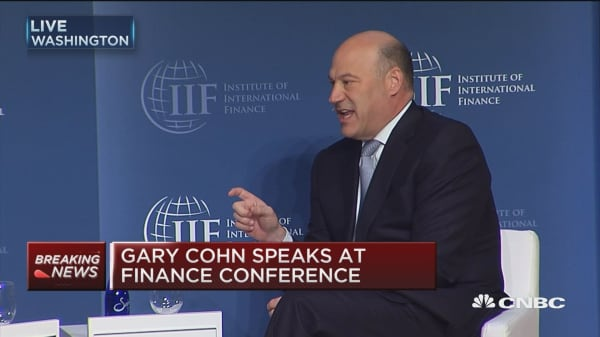 Cohn: Trying to change health care, taxes, infrastructure