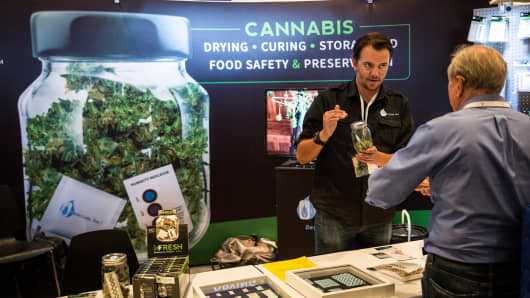 The 2015 Cannabis World Congress Expo in New York City.
