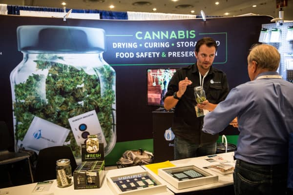 The 2015 Cannabis World Congress Expo in New York City.