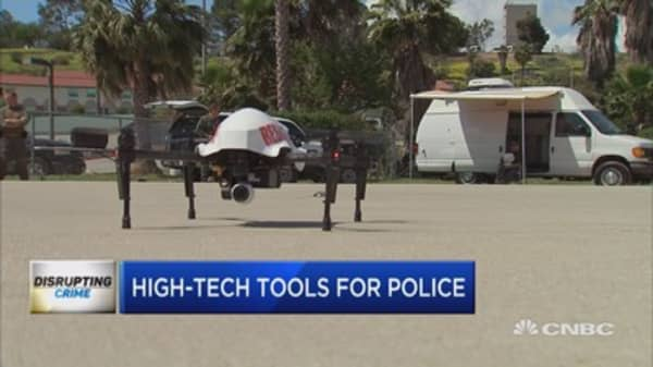 High-tech police tools