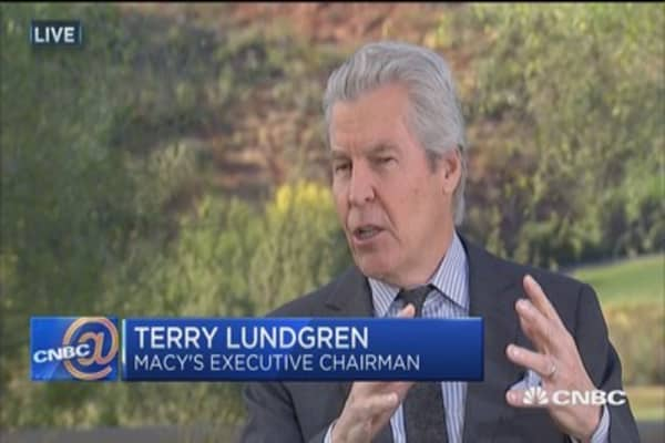 Terry Lundgren: We are looking all the time for acquisitions
