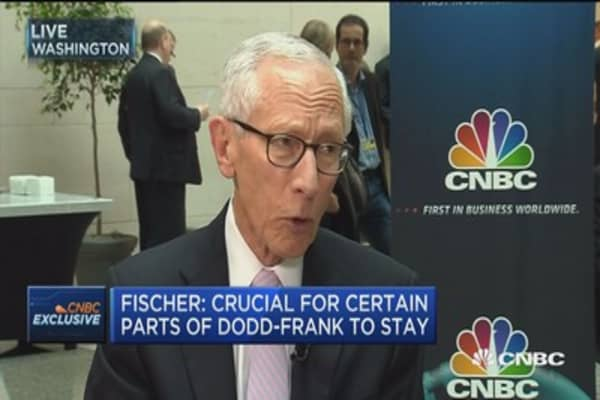 Fed's Fischer: Important not to forget the financial crisis