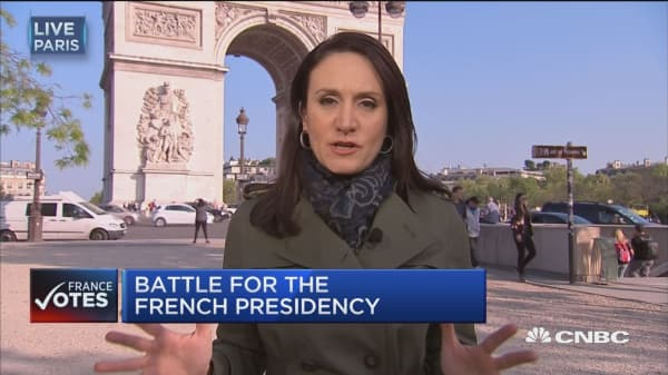 French voters head to the polls on Sunday