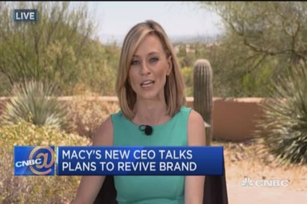 Macy's new CEO talks plans to revive brand