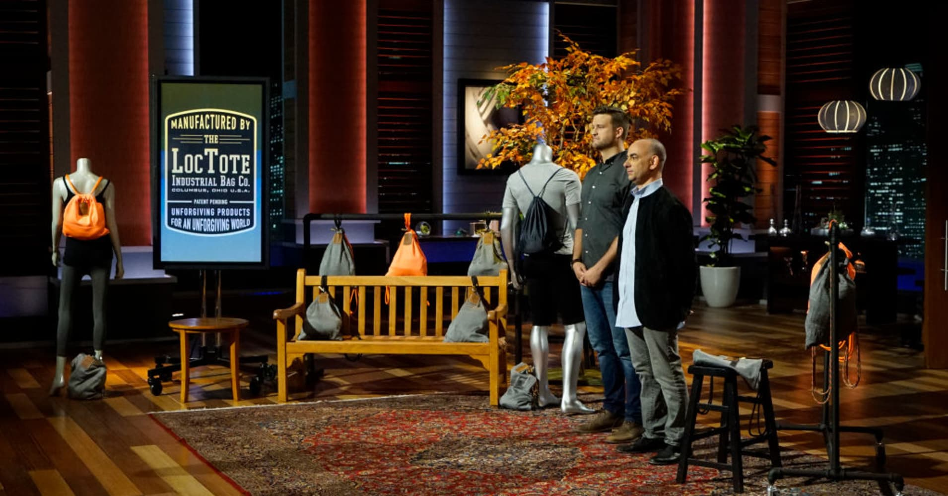 """LocTote Industrial Bag Co. pitches on """"Shark Tank."""""""