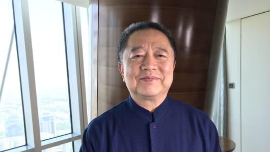 Hu Baosen, chairman of Central China Real Estate
