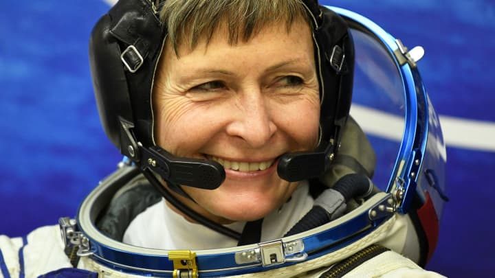 U.S. astronaut Peggy Whitson, member of the 50/51 expedition to the International Space Station (ISS).