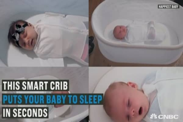 Manage your baby's crying at the click of a button