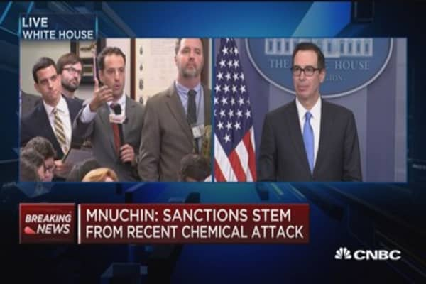 Mnuchin: Business taxes need to be competitive