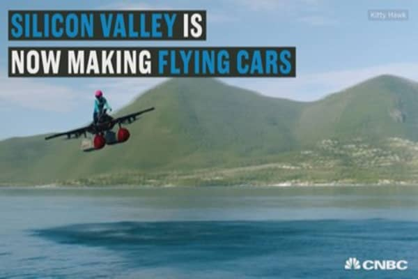 Here is a first look at Larry Page's 'flying car'
