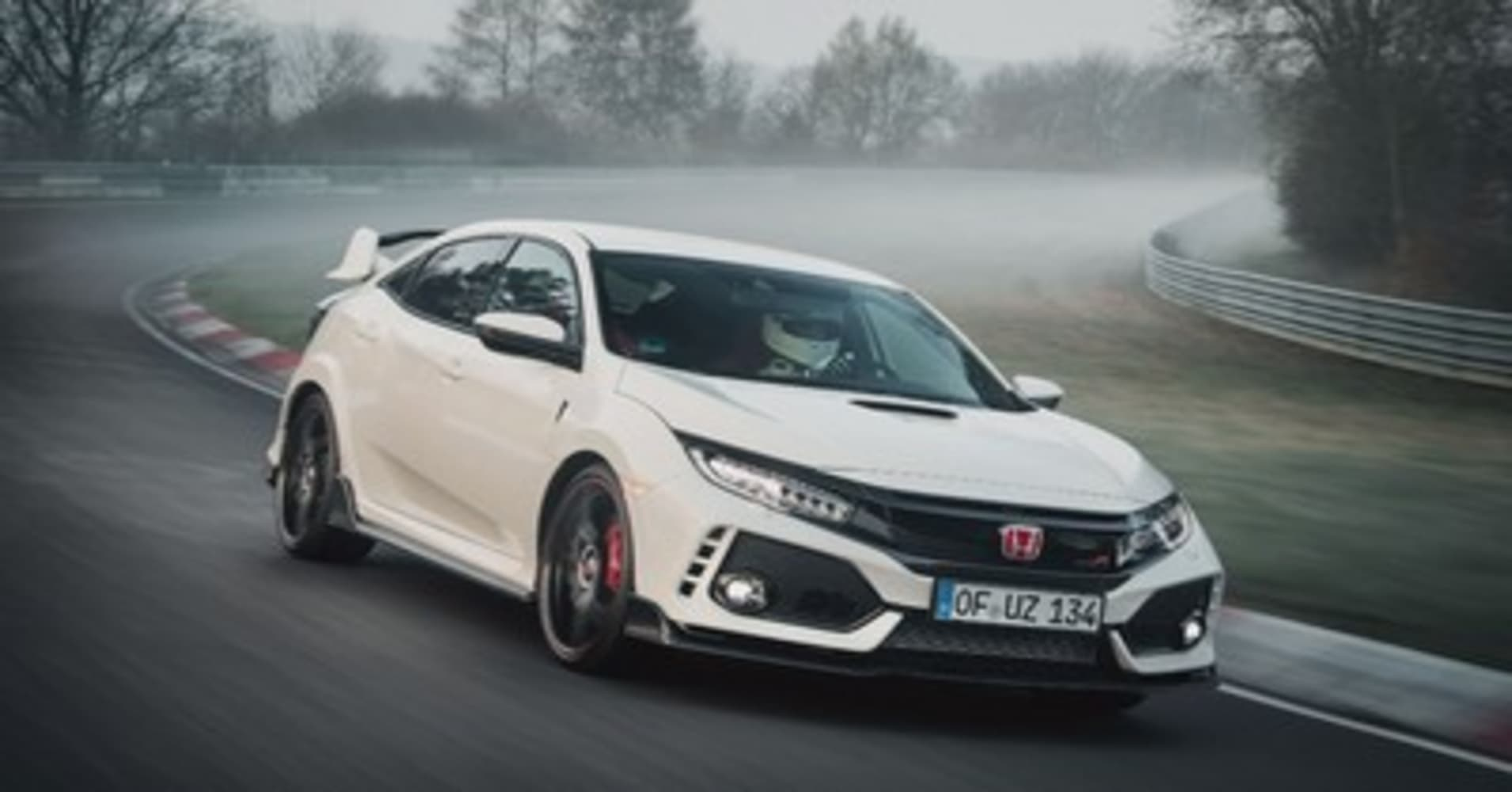 The 2017 honda civic type r just broke the record at n rburgring as the world s fastest fwd car