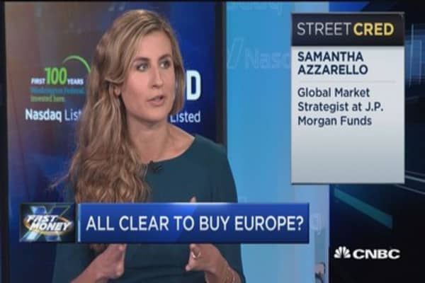 JPM: Time to buy European stocks
