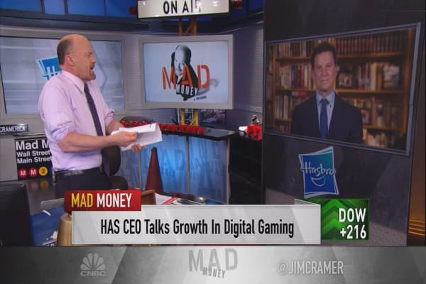 Hasbro CEO reveals the magic behind the toymaker's earnings beat
