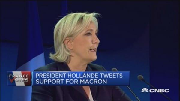 Macron warned to focus on winning second round