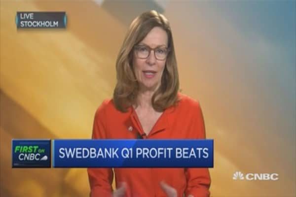 Swedish economy in good shape, subdued demand for corporate lending: Swedbank CEO