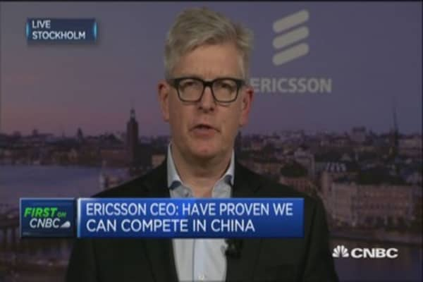 We depend on global trade: Ericsson CEO
