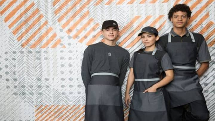 McDonald's USA new staff uniform, launched in April 2017