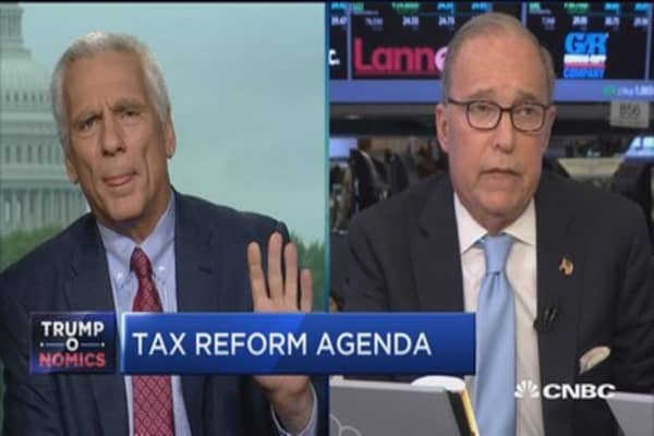 Kudlow: There will be no withdrawl from NAFTA, no border adjustment tax