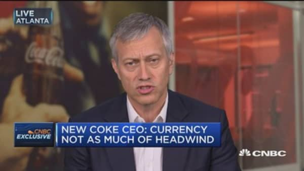 Incoming Coke CEO: New smaller, focused company sets us up for growth