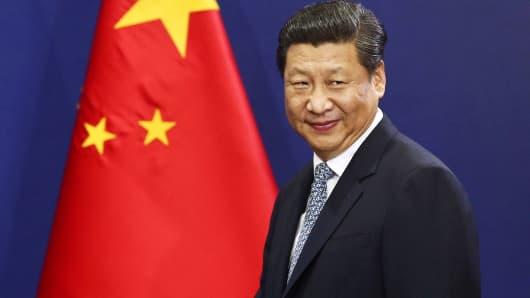 President of China, Xi Jinping.