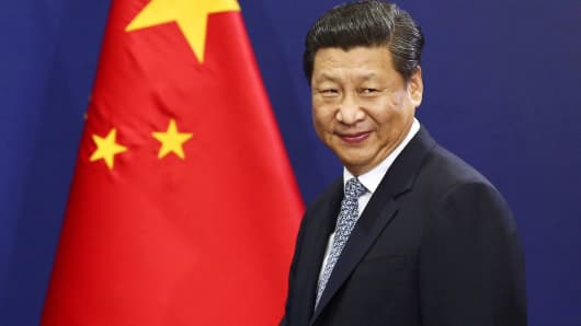 President of China, Xi Jinping.