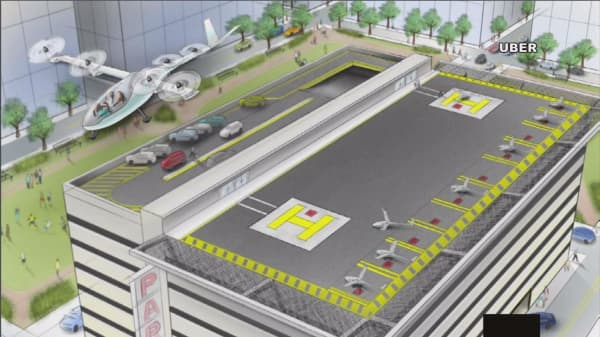 Uber is serious about flying taxis
