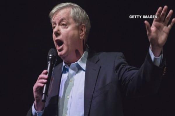 Senator Lindsey Graham says the US will stop the 'nut job' in North Korea
