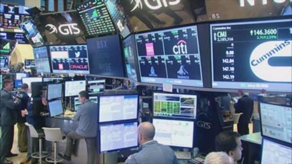 Stocks surged on Tuesday