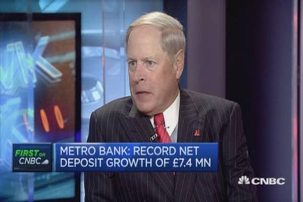 We've had best quarter ever: Metrobank CEO