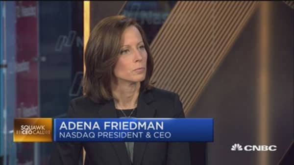 Nasdaq CEO: Earning, Europe and tax reform lifting market higher