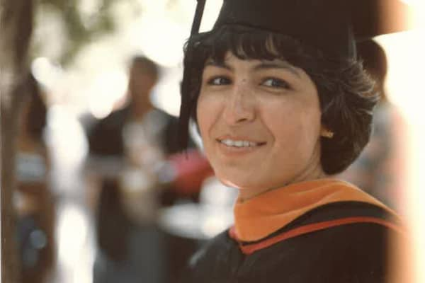 Acevedo at her college graduation.