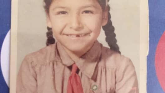 Acevedo discovered her passion for the sciences as a Girl Scout.