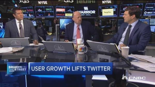 Cramer: Twitter's become more 'investable'