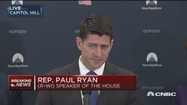 Ryan: Reconcilliation the most logical process for tax reform